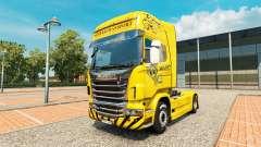 Schwertransport Hanys skin für Scania-LKW