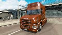 Scania T Longline [Black Amber]