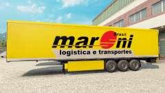 Maroni Transportes Haut für Anhänger