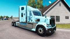 La peau de Gordon sur le camion Freightliner Cor