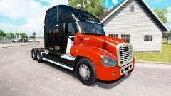 La peau CNTL sur tracteur Freightliner Cascadia