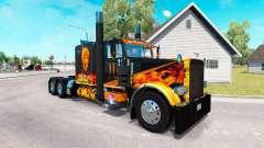 Pègre de la peau pour le camion Peterbilt 389