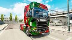 Скин Portugal Copa 2014 на Scania Streamline