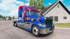 Red Bull de la peau pour le Freightliner Coronad