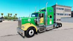 Boston Celtics de la peau pour le Kenworth W900