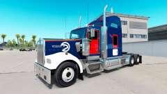 La peau Atlanta Hawks sur le camion Kenworth W90