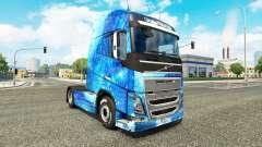 Die Wasser-Haut, für Volvo-LKW
