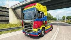 Der Kolumbien-Copa 2014 skin für Scania-LKW