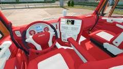 Das Bayern-Innenraum für Iveco-Hi-Way