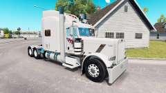 FTI Transport skin für den truck-Peterbilt 389