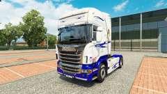 Le Rêve américain de la peau pour Scania camion