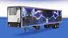 Haut-CS Logistik-02 auf die Auflieger-Kühlschran