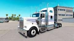 Peau Classique Rayures sur le camion Kenworth W9