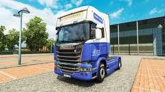 Le H. Veldhuizen BV de la peau pour Scania camio