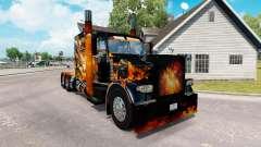 Les peaux de Big Bang sur le camion Peterbilt 38