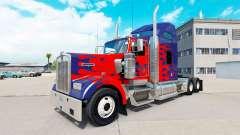 De la peau pour Optimus Prime camion Kenworth W9