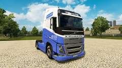 Le H. Veldhuizen BV de la peau pour Volvo camion