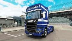 Mainfreight de la peau pour Scania camion
