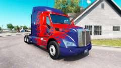 Optimus Prime peau pour le camion Peterbilt