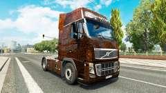 Ferrugem kommen aus Haut für Volvo-LKW