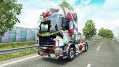 La peau Japao Copa 2014 pour Scania camion