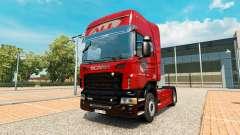 Das America Latina Logistica skin für Scania-LKW