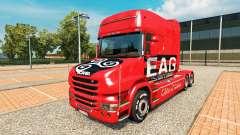 EAG-skin für den truck Scania T