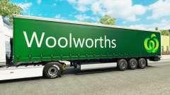 Woolworths de la peau pour les remorques