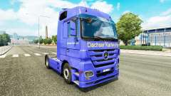 Skin Dachser Karlsruhe for tractor Mercedes-Benz