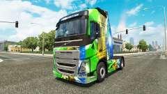 Brasil 2014-skin v3.0 für Volvo-LKW