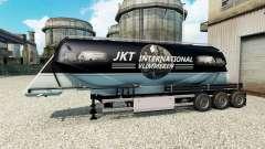 JKT International skin für die Auflieger-Zement-