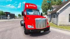 Haut Coca-Cola-truck Peterbilt