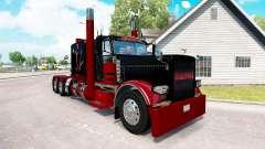 Deadpool de la peau pour le camion Peterbilt 389