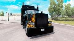 Ghost Rider skin für den truck-Peterbilt 389