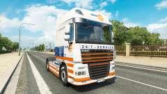 Truckland de la peau pour DAF camion