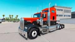 Flash de la peau Personnalisé camion Kenworth W9