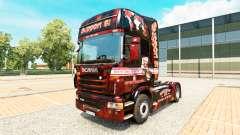 Support 81-skin für den Scania truck