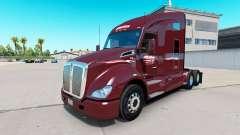 Haut Millis Transfer Inc. auf dem truck Kenworth