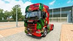 La peau Portugal Copa 2014 pour Scania camion