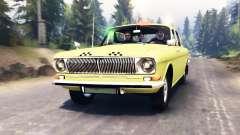 GAZ-24 Wolga Taxi