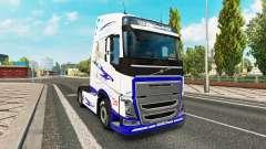 Le Rêve américain de la peau pour Volvo camion