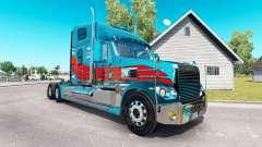 La peau sur le camion Freightliner Coronado