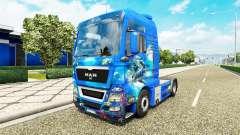 L'océan de la peau pour l'HOMME de camion