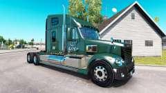 La peau LDI sur le camion Freightliner Coronado