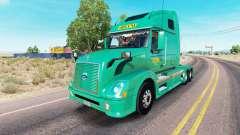 Abilene Express de la peau pour les camions Volv