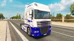 Le Rêve américain de la peau pour DAF camion