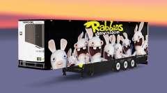 Semitrailer refrigerator Schmitz lapins crétins
