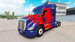 De la peau pour Optimus Prime camion Kenworth