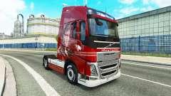 La peau De la Logistique chez Volvo trucks