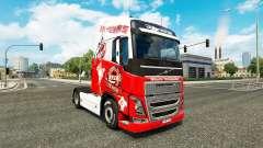 De la peau 1. FC Cologne chez Volvo trucks